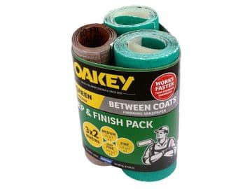 Prep & Finish Assorted 115mm x 2m (Pack 3)